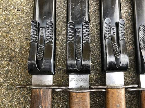 Luftwaffe boot knives - my collection
