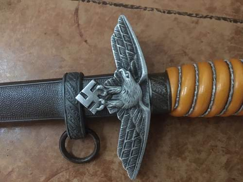 Your opinion on this Eickhorn Luftwaffe Dagger, please.