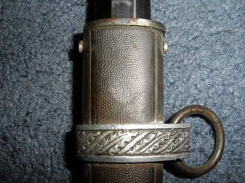 My new luftwaffe dagger