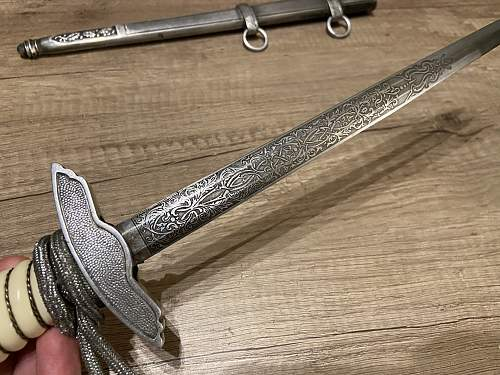Luftwaffe dagger, real or fake in my collection.