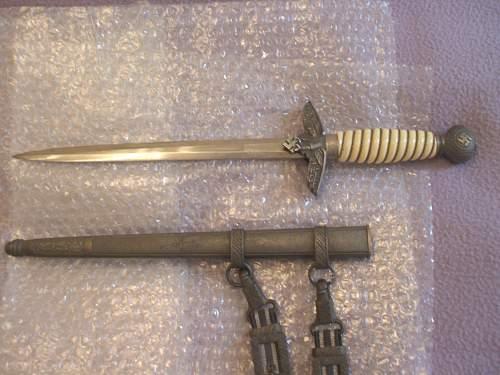 My second model Luftwaffe dagger