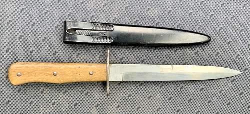 Luftwaffe boot knife?