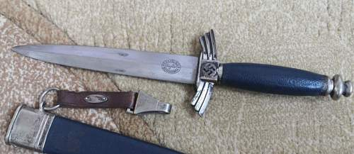 DLV flyers knife - need to help to evaluate