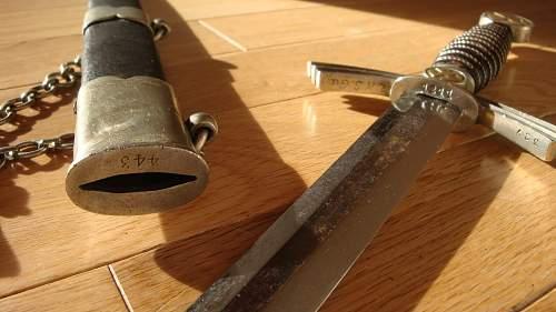 Please Help: Luftwaffe 1st Model Dagger (PAUL WEYERSBERG) REAL OR FAKE?