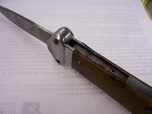 FJ Gravity knife at auction