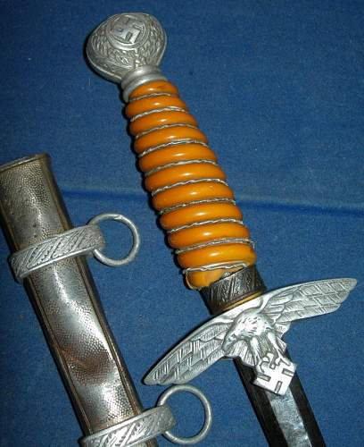 luftwaffe dagger well used
