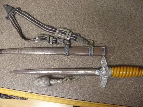 luftwaffe dagger info