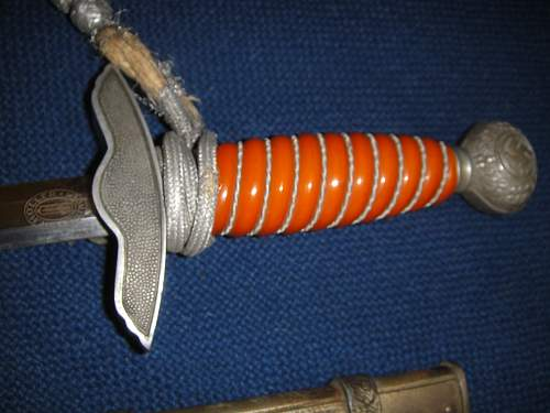 Luftwaffe Dagger .How is its condition according to you ?