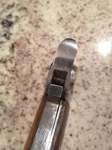 Paratrooper Gravity knife....