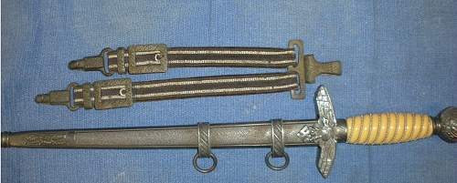 Luftwaffe Dagger for Review - Puma, 2nd Type