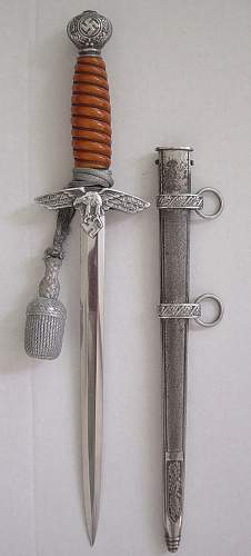 Luftwaffe dagger with a bit of history
