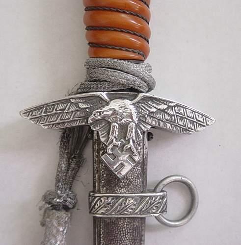 Click image for larger version.  Name:Luftwaffe second pattern dagger. 003.jpg Views:430 Size:193.5 KB ID:31208