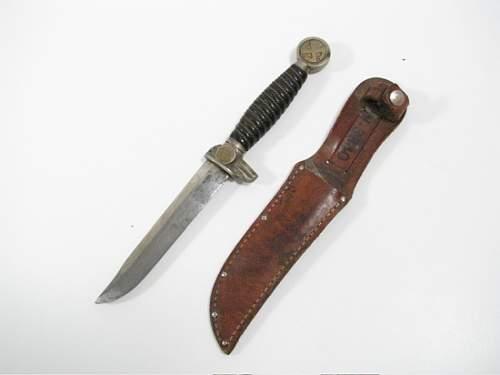 Combat-converted 1st model Luftwaffe dagger