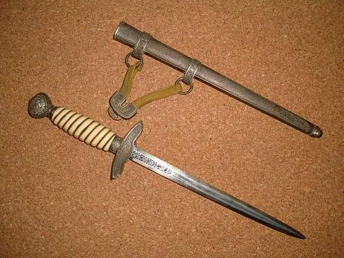 2nd Model Luftwaffe Dagger - Opinions please