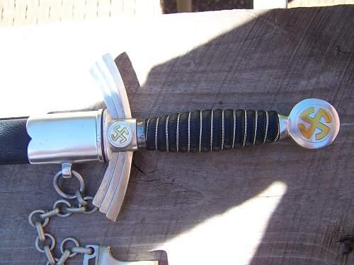 First Model Luftwaffe Dagger