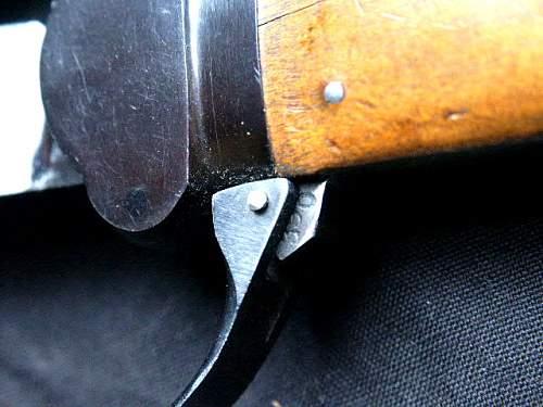 Late War Gravity Knife.