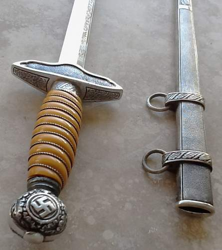Need opinions on double-etched LW dagger...