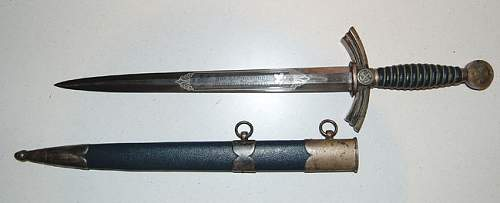 1st Model Luftwaffe dagger from classifieds for discussion