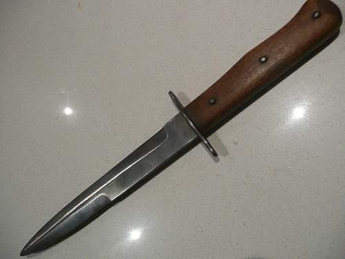 Luftwaffen Kampfmesser