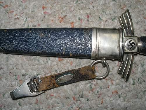 Newly Purchased DLV Dagger