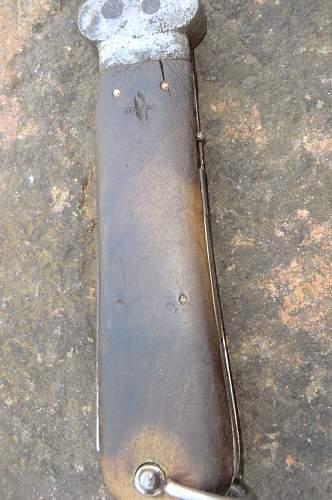 Gravity knife by Weyersberg