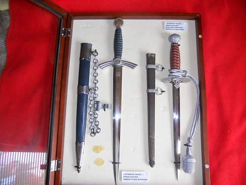 1st model Luftwaffe TIGER Dagger & 2nd model SMF Luftwaffe  Dagger