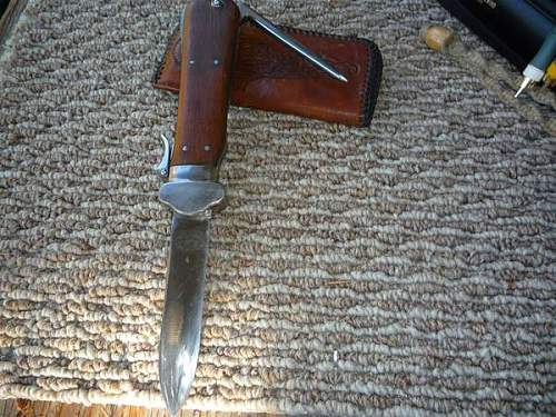 Any chance this Gravity Knife being the real deal?