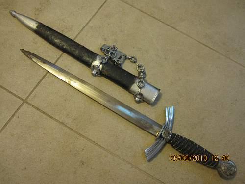 Luftwaffe 1st model dagger