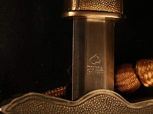2nd Model Luft W/ Nylon Portepee