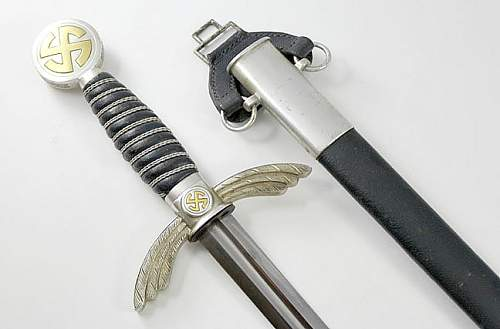 Luftwaffe Sword condition is almost too good to be true.