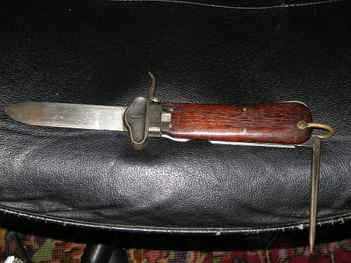 Luftwaffe Gravity knife