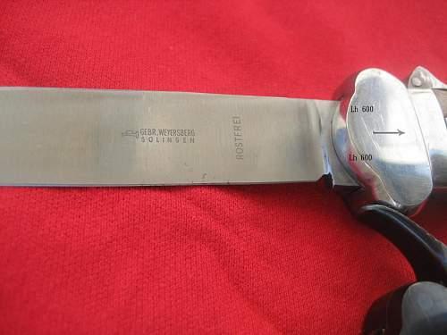 Luft Gravity knife