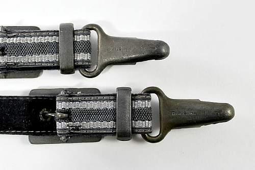 Near Perfect Luftwaffe Dagger Hanger Reproductions