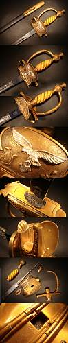 2nd Model Luftwaffe General's Degen