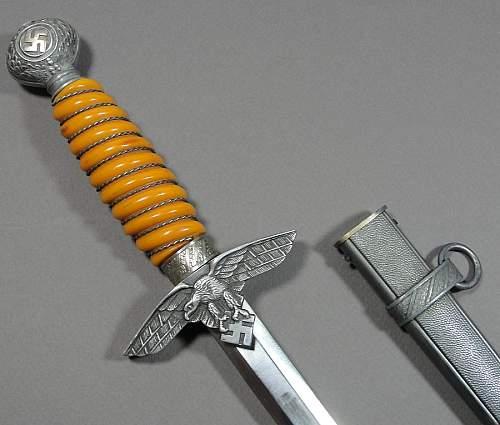 2nd Pattern Luftwaffe Dagger
