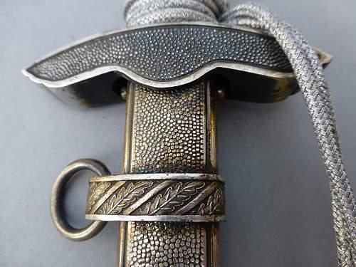 LW 2nd pattern Dagger by Erst Pack Siegfried Waffen