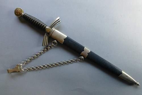 1st Pattern LW dagger by Emil Voos
