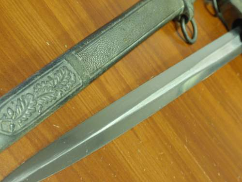 Herder 2nd pattern Luftwaffe dagger