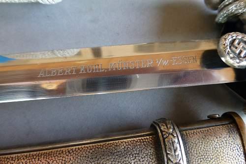 named luftwaffe dagger