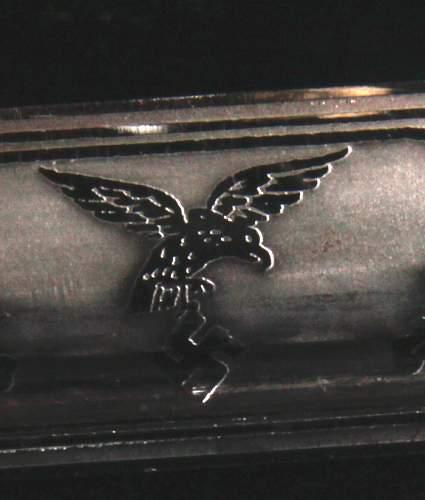 Short Luftwaffe Etched Bayonet