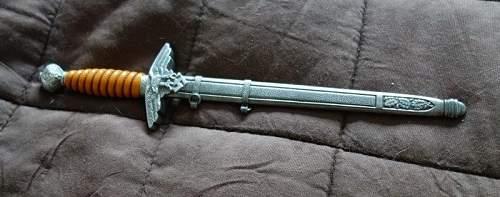Luftwaffe miniature dagger SMF