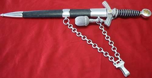 Horster 1st Model Luftwaffe Dagger Aluminum
