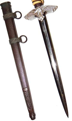 German luftwaffe dagger - please help