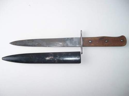 Luftwaffe Close Combat Knife