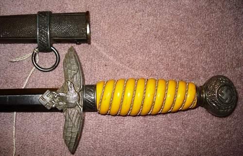 Opinions on my luft II dagger please? WKC