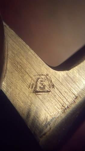 Paul Weyersberg & Co Fallschirmjager Gravity Knife
