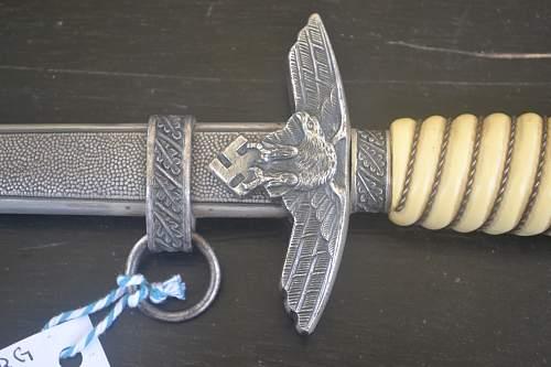 Luftwaffe dagger Weyersberg Solingen
