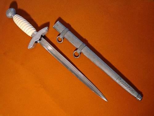 Luftwaffe 2nd Model Dagger - F.W. Höller