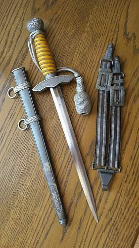 Luftwaffe dagger type 2