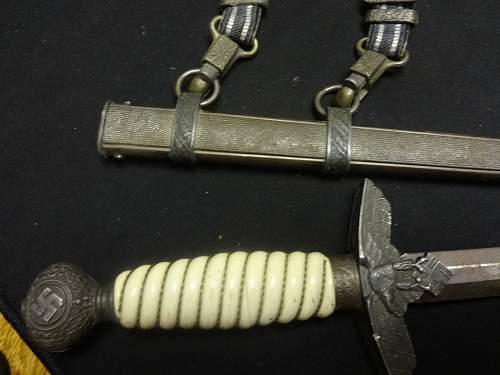 Rummage sale  Luftwaffe Dagger